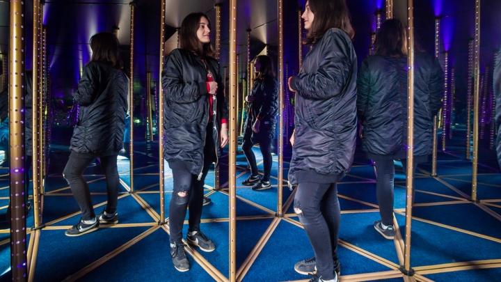 В Новосибирском зоопарке открыли аттракцион из зеркал