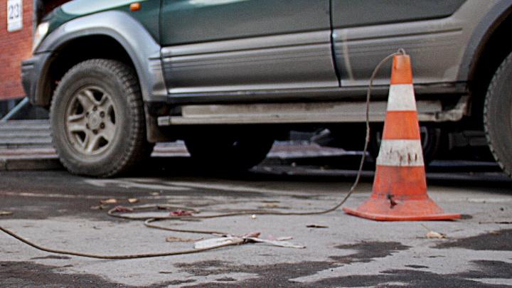 ГИБДД не будет наказывать инспекторов, перегородивших парковку ради vip-персоны