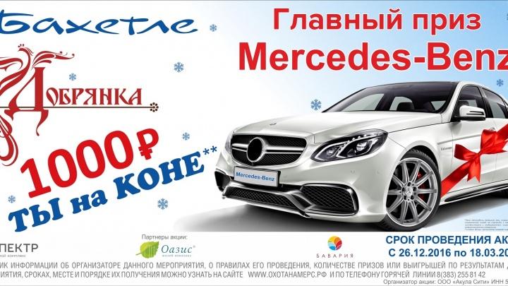 «Добрянка» и «Бахетле» дарят Mercedes-Benz
