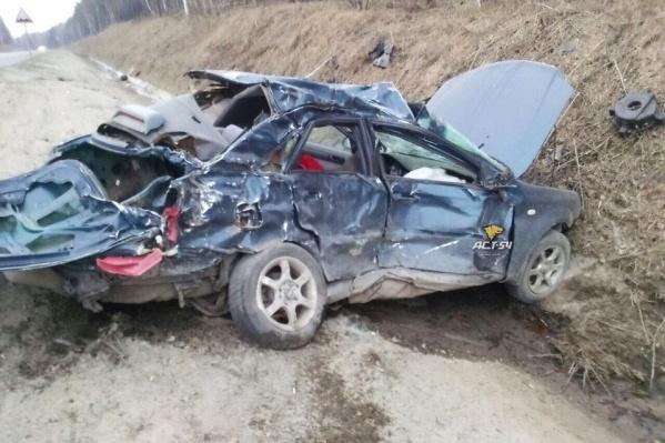 «Шевроле», водитель которой погиб
