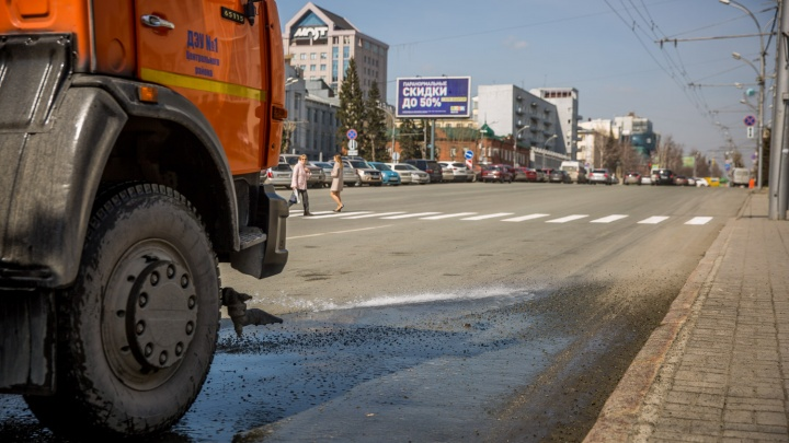 Мэр Локоть заметил, что в Новосибирске стало меньше пыли