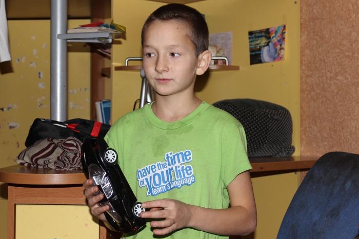 Андрей вынес младшего брата из горящего дома