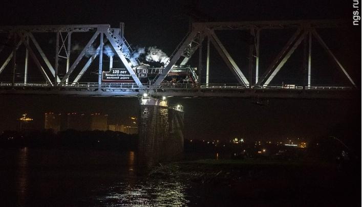 Новосибирский музей получил театральную награду за шоу с паровозом на мосту