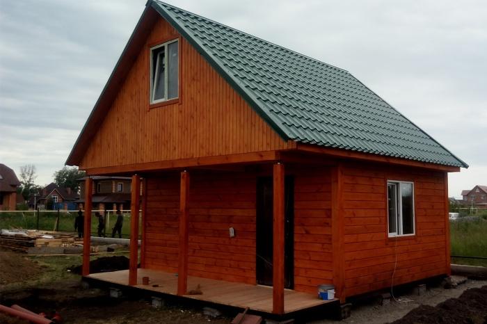 Новосибирская компания построит дачный дом за 260 000 рублей под ключ