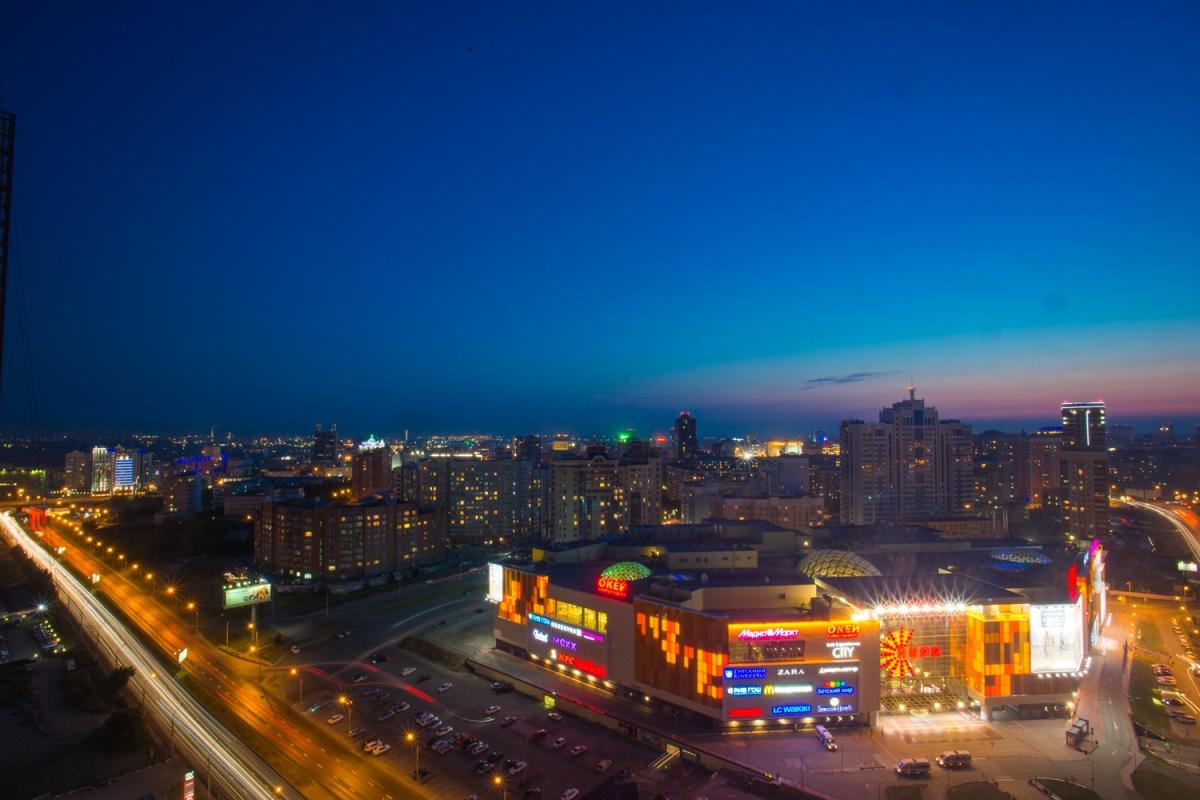 Новосибирск претендует на звание столицы акции «Час Земли»