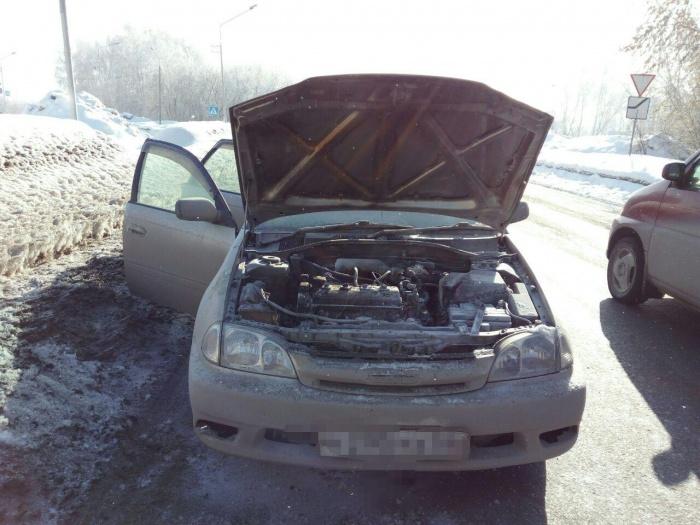 Причиной пожара стало одеяло для двигателя