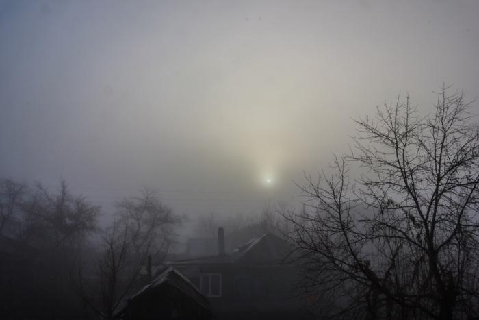 Туман на ул. Звездной