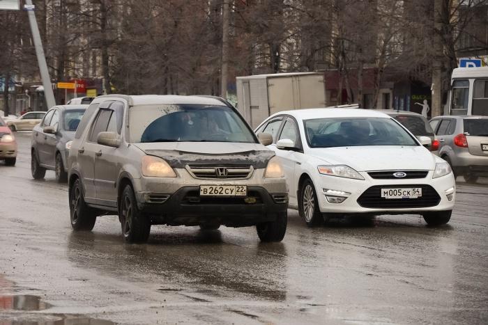 Новосибирцы стали намного больше ездить на своих авто