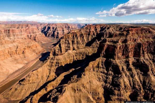 Большой каньон — один из глубочайших каньонов в мире<br>