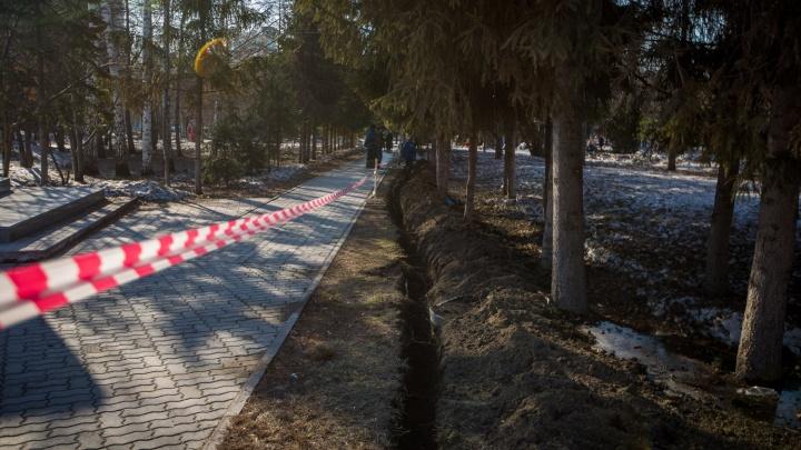 Названы даты запуска фонтанов в Новосибирске