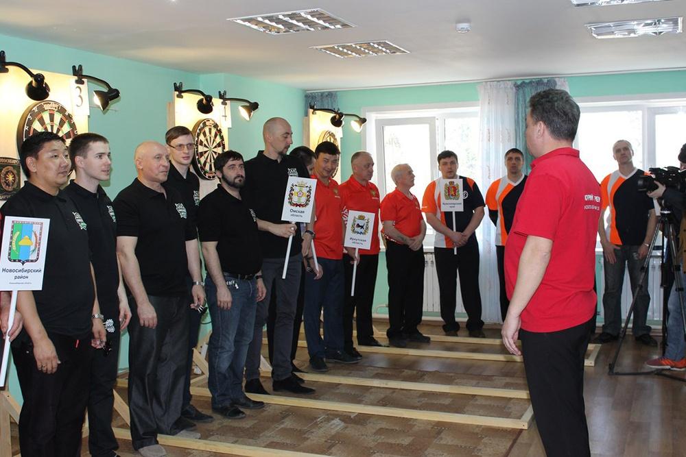 Участвовало в первом областном чемпионате по дартс около 50 человек из 6 регионов России
