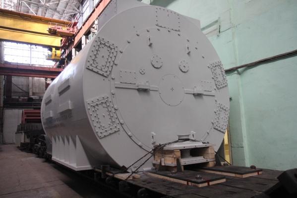 «ЭЛСИБ» изготовил 8 турбогенераторов с воздушным охлаждением для газовых турбин<br>