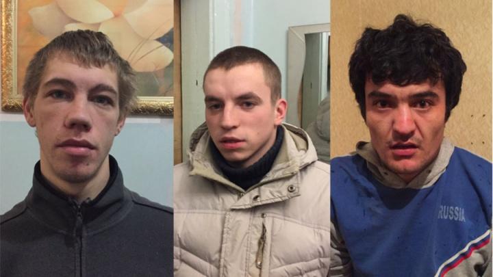 Полицейские поймали банду грабителей с обрезом