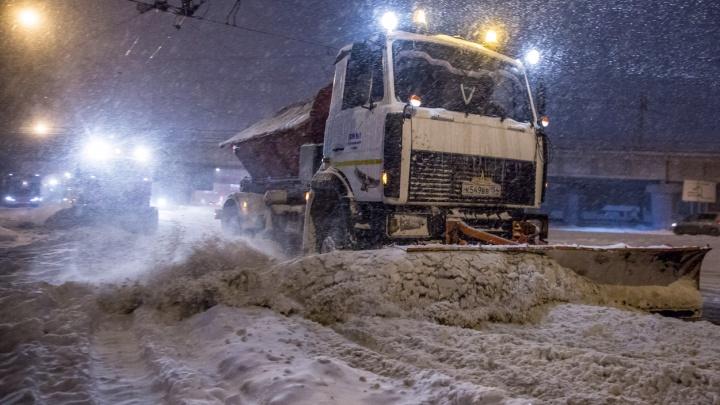 Власти назвали улицы, которые чистить в снегопады было сложнее всего
