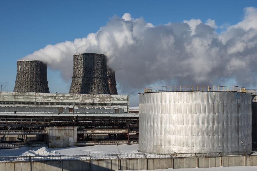 Навыходные мороз принесет вНовосибирск грязный воздух— Фенол исажа