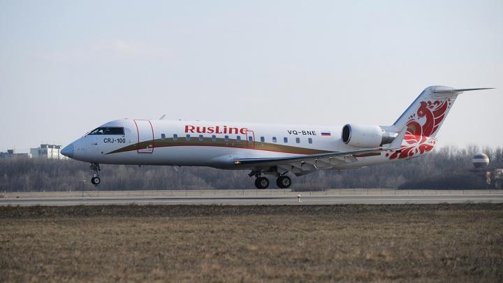 Новосибирских детей попросили разрисовать самолет Bombardier