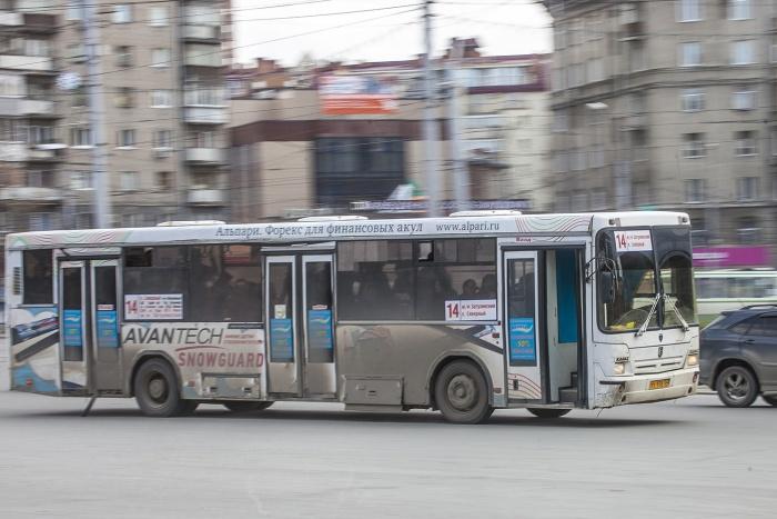 Видео с пассажиром автобуса  № 14  выложили в Сеть очевидцы