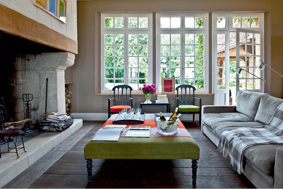 Загородный дом: французский стиль в интерьере