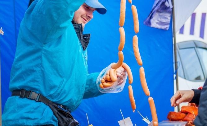 Покровская ярмарка от «НОРДМОЛЛ» порадовала низкими ценами и широким выбором натуральных продуктов