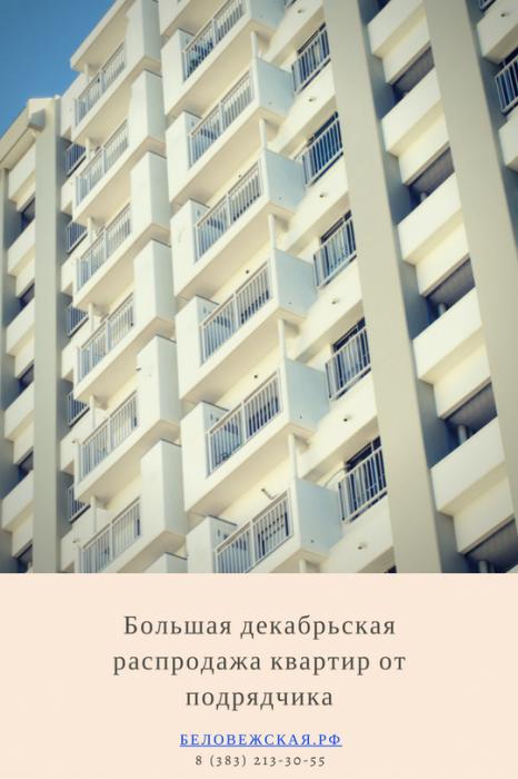 Обзор цен на квартиры со скидками от подрядчика в декабре
