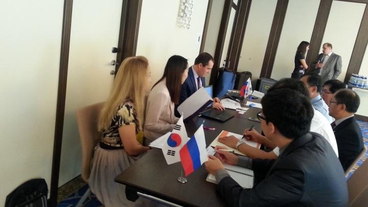 Деловой визит южнокорейских производителей в Сибирь
