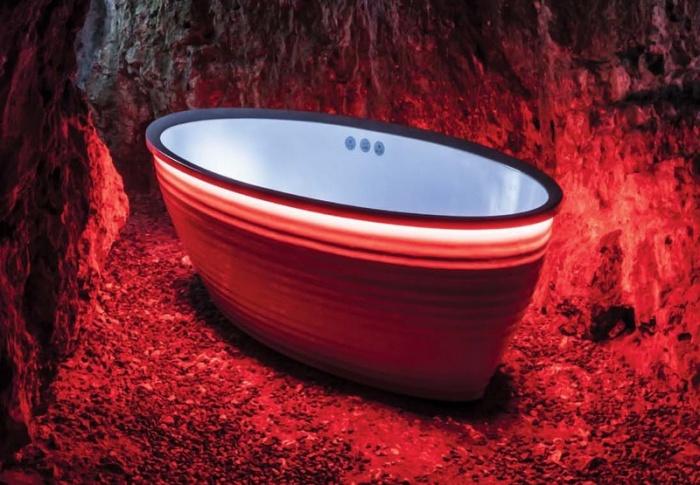 Дизайн «интимной» комнаты: гидромассаж и не только