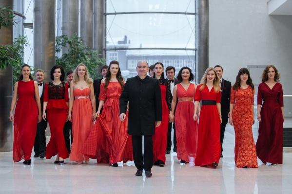 Большую часть репертуара хор «Маркелловы голоса» исполняет a cappella<br>