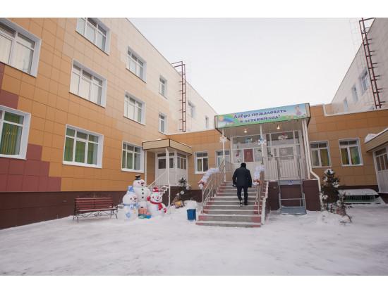 Детский сад в «Новомарусино» открылся 23 декабря 2016 года