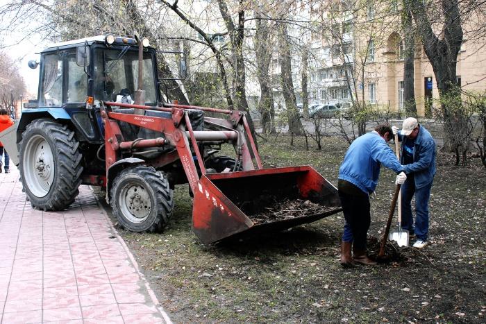 В каждом районе определены площадки и дворы, где будет проходить уборка