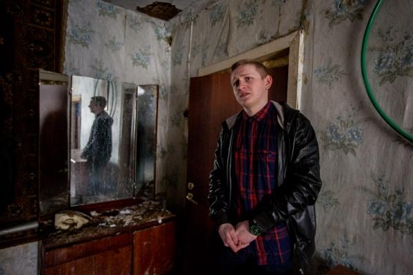 Андрей Коноферчук —студент 3-го курса Новосибирского строительно-монтажного колледжа