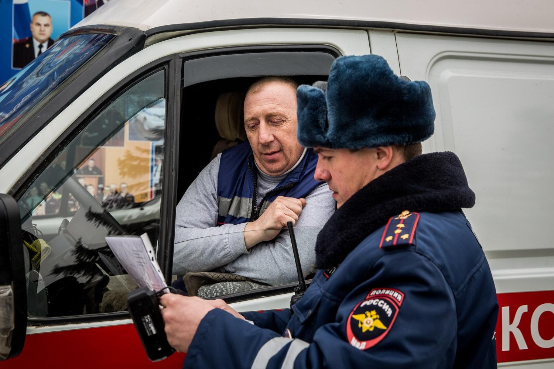 В машине экстренной службы был только водитель, бригада врачей не участвовала в эксперименте