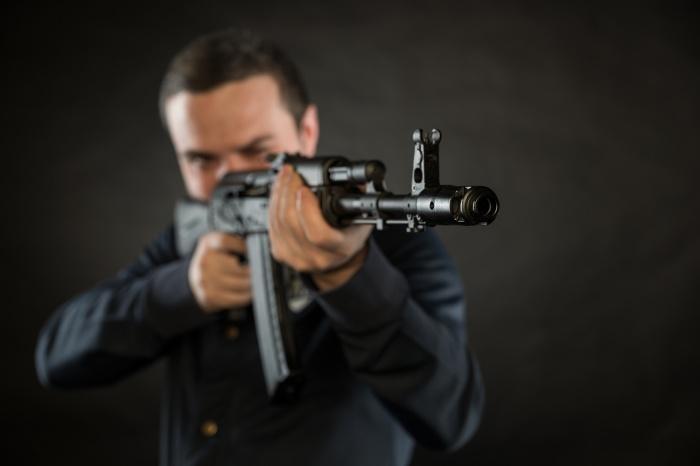 Экс-полицейский расстрелял соседа из «Сайги»