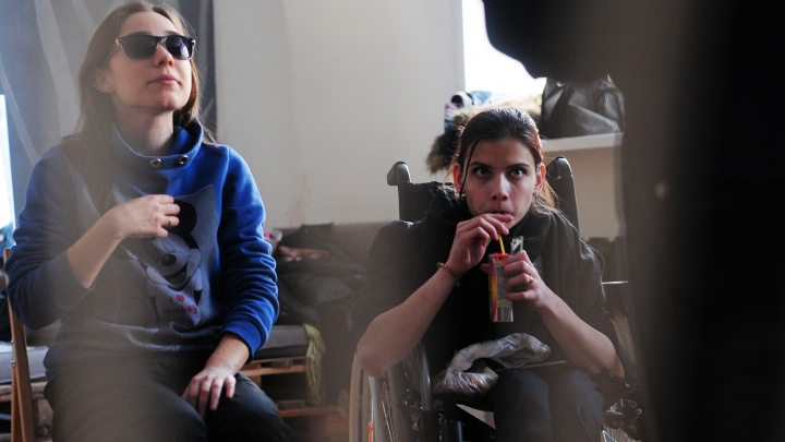 Новосибирцы ставят спектакль о любви с актерами-инвалидами