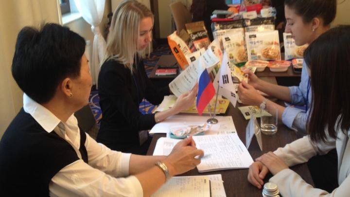 Визит южнокорейских производителей в Сибирь