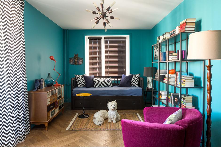 Дизайн маленькой квартиры: яркий интерьер с обложки