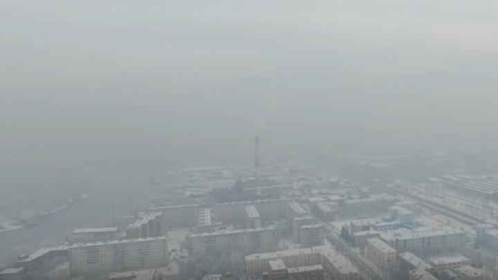 Красноярцы вышли на митинг против бесконечного режима «черного неба» (онлайн)