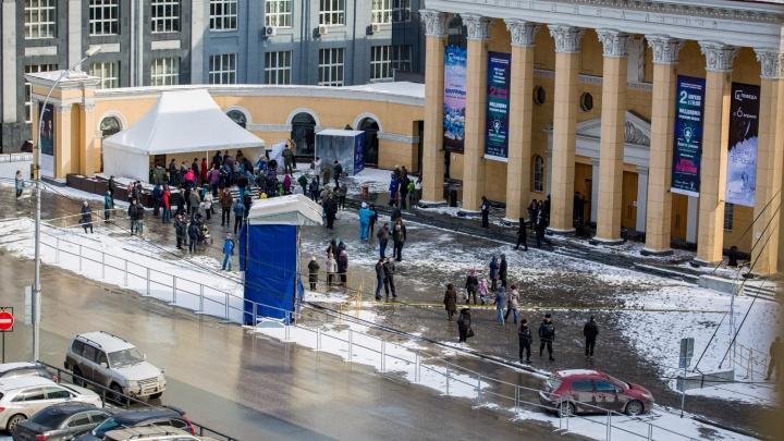 Улицу Ленина перекрыли ради праздника с концертом Корнелюка