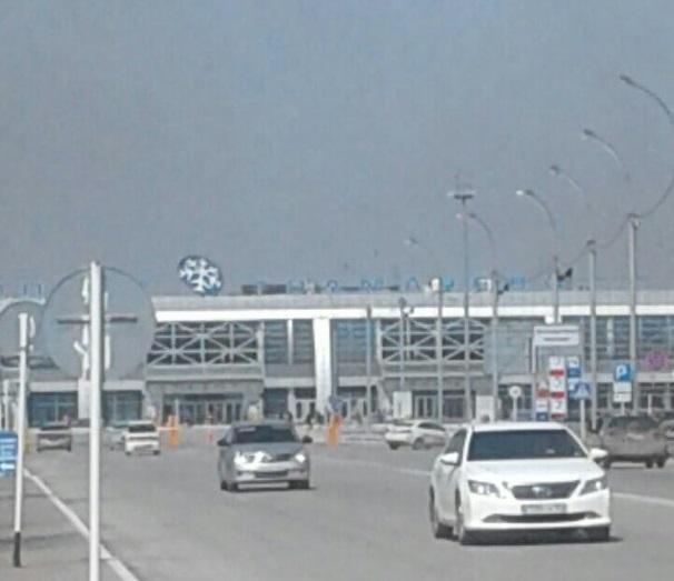 Рядом с аэропортом