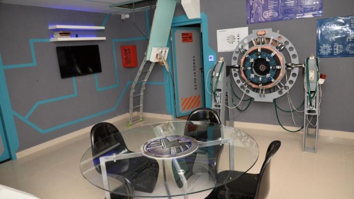В Новосибирске появились высокотехнологичные квесты с лифтом и телепортом