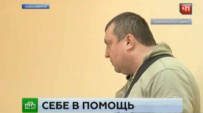 Владелец машины Юрий Тренин. Съемки телеканала НТВ