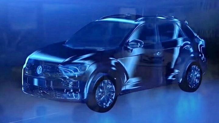 Volkswagen показал новый крохотный кроссовер (фото)