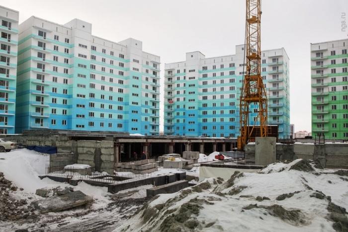 Жилмассив «Просторный» (фото сделано в декабре 2015 года)