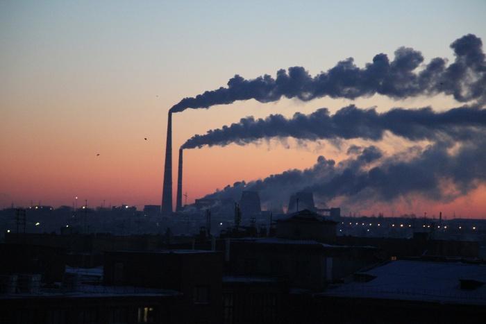 В прошлому году объем выбросов вредных веществ увеличился на  8,8 %