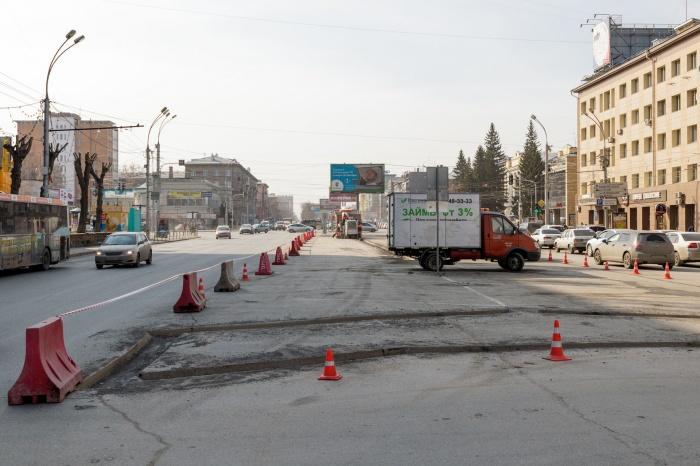 Перекресток Красного проспекта и ул. Гоголя вошел в программу «Безопасные и качественные дороги»
