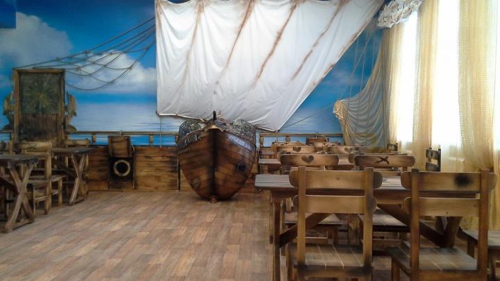 В детском аквапарке появился настоящий пиратский «Корабль»