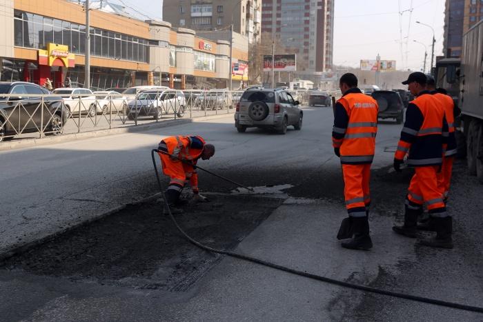 14 апреля начался ремонт ул. Гоголя на участке от ул. Ольги Жилиной до ул. Ипподромской