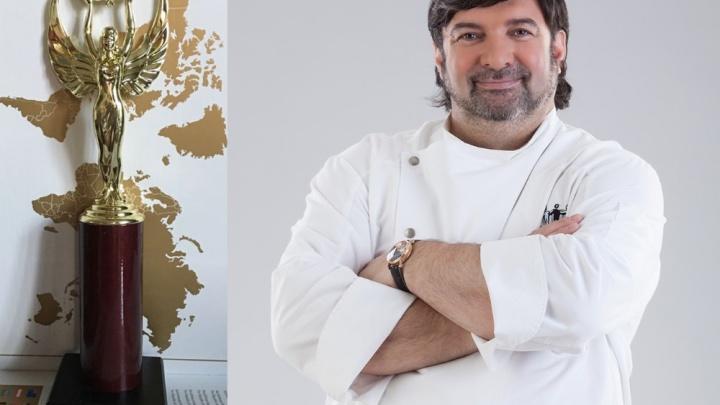 Ресторатору Владимиру Бурковскому вручили статуэтку престижнейшего международного конкурса