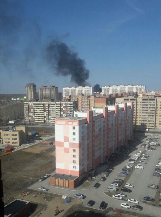 Пожар на «Родниках»