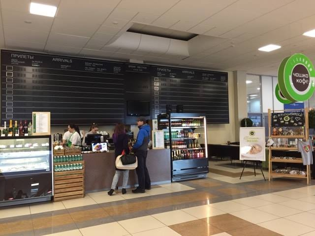 В аэропорту «Толмачёво» отключили табло прилетов (фото)