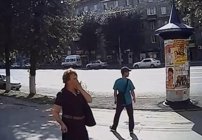 Полиция ищет мужчину и женщину, которые стали свидетелями ДТП